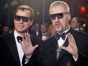 3D WAS SUPPOSED TO BE A JOKE, ADMITS JAMES CAMERON