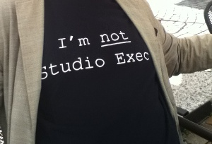 I AM NOT STUDIO EXEC