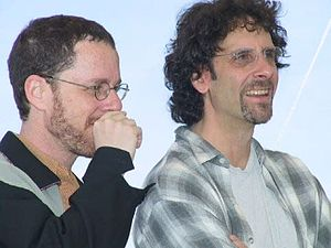 COEN BROTHERS 'ARE OUT OF CONTROL'