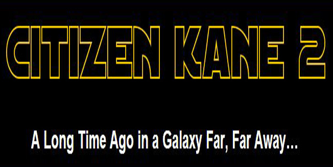 GEORGE LUCAS ANNOUNCES CITIZEN KANE 2
