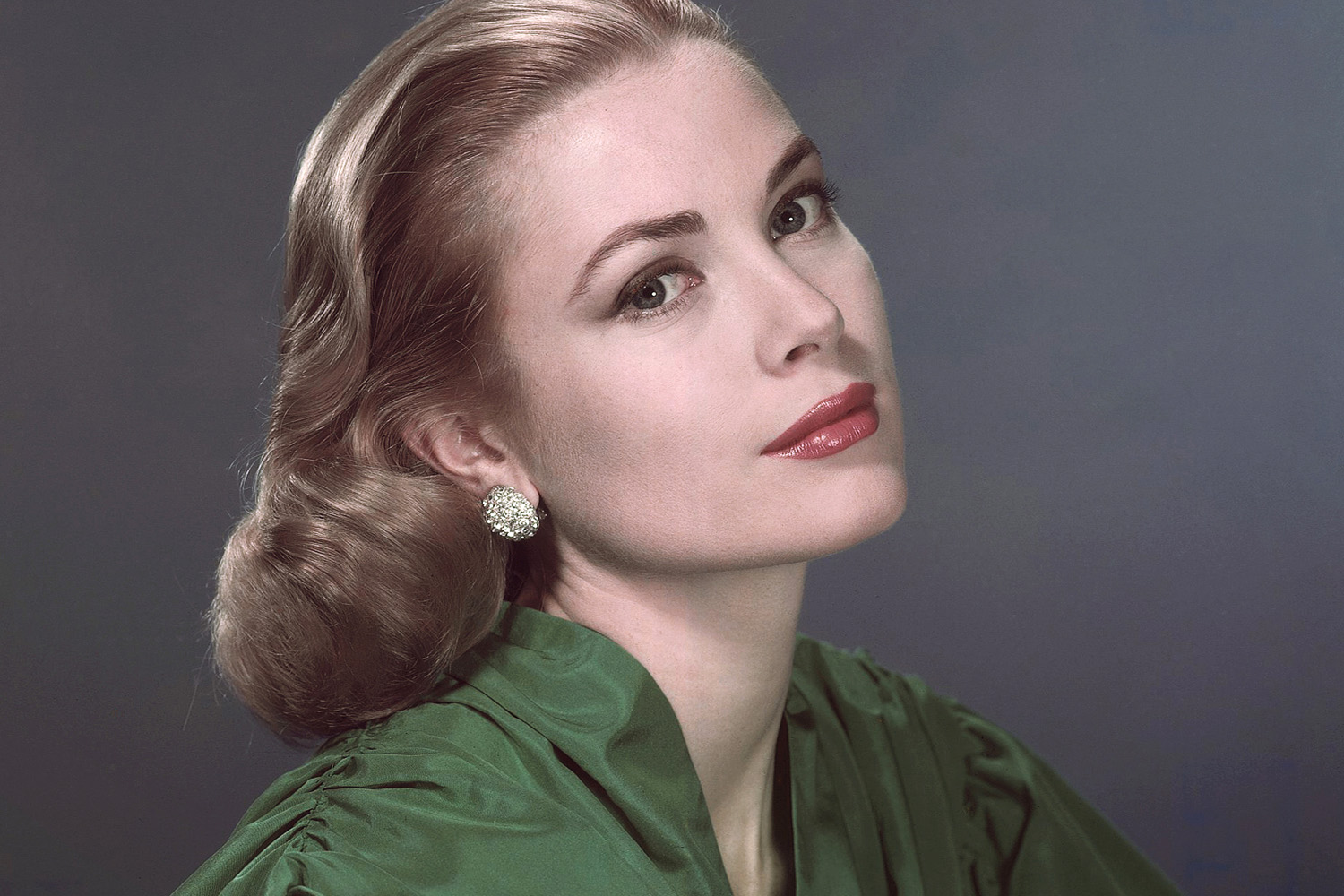 SIR EDWIN FLUFFER RECALLS GRACE KELLY