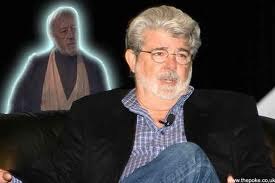 ALEC GUINNESS' GHOST HAUNTS GEORGE LUCAS
