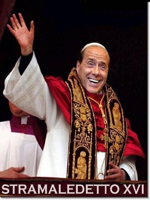 BERLUSCONI FOR POPE