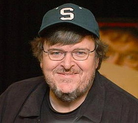 MICHAEL MOORE SECRETLY FILMING IN CONCLAVE