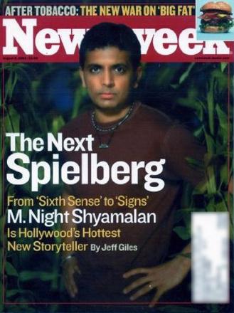 SHYAMALAN REVEALS NEW TWIST: 'I'M NOT THE NEXT SPIELBERG'