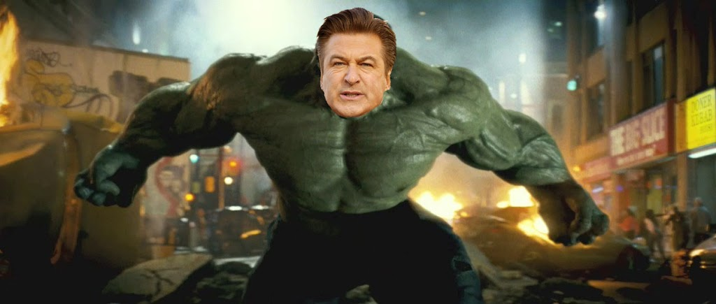 ALEC BALDWIN EXPOSED TO GAMMA RAYS