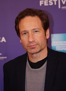 DAVID DUCHOVNY GROWS FACE ON HIS ASS