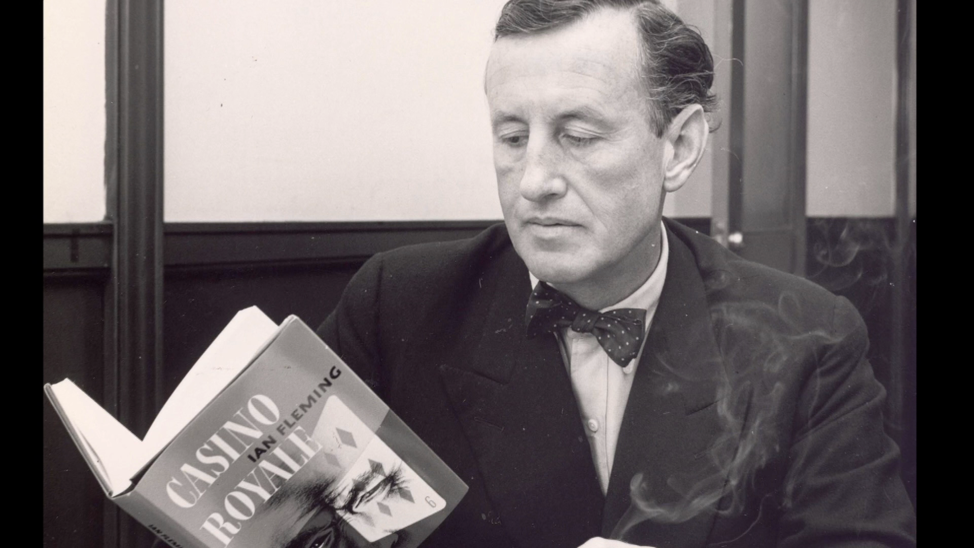 SIR EDWIN FLUFFER RECALLS IAN FLEMING