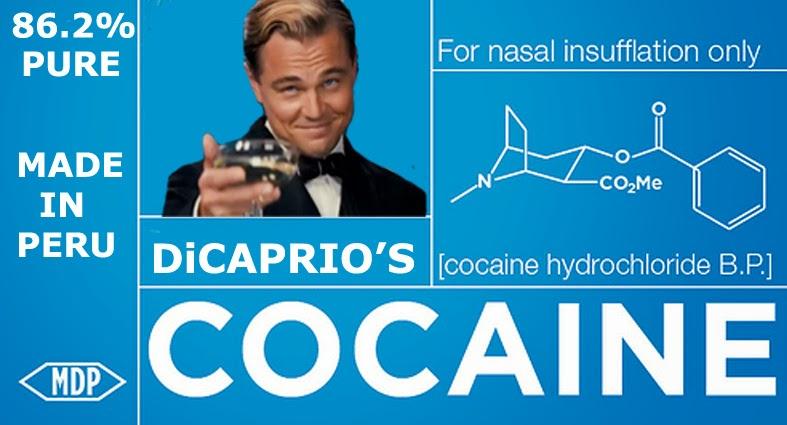 LEONARDO DICAPRIO RELEASES HIS OWN BRAND OF COCAINE