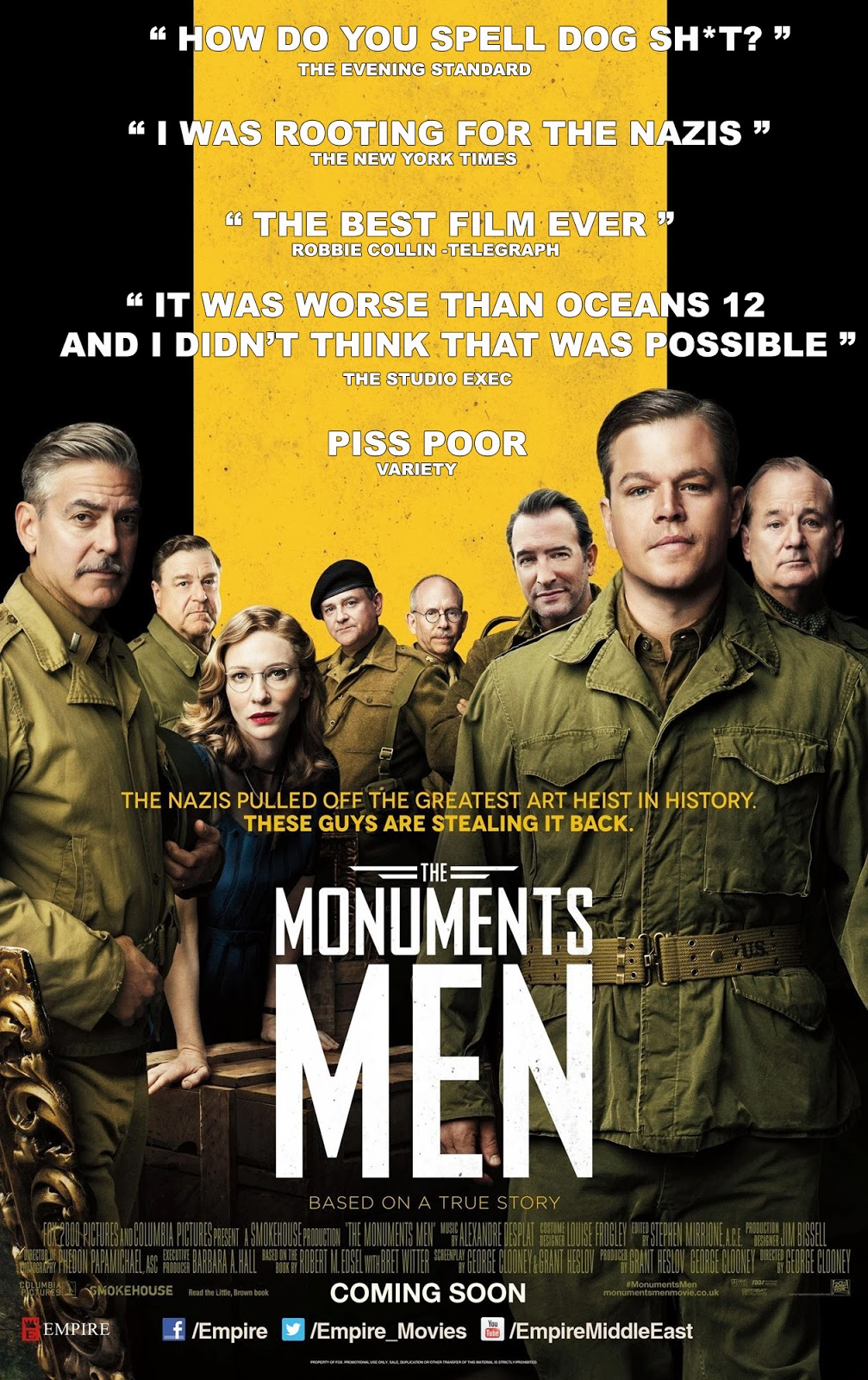 BAD POSTER: THE MONUMENTS MEN
