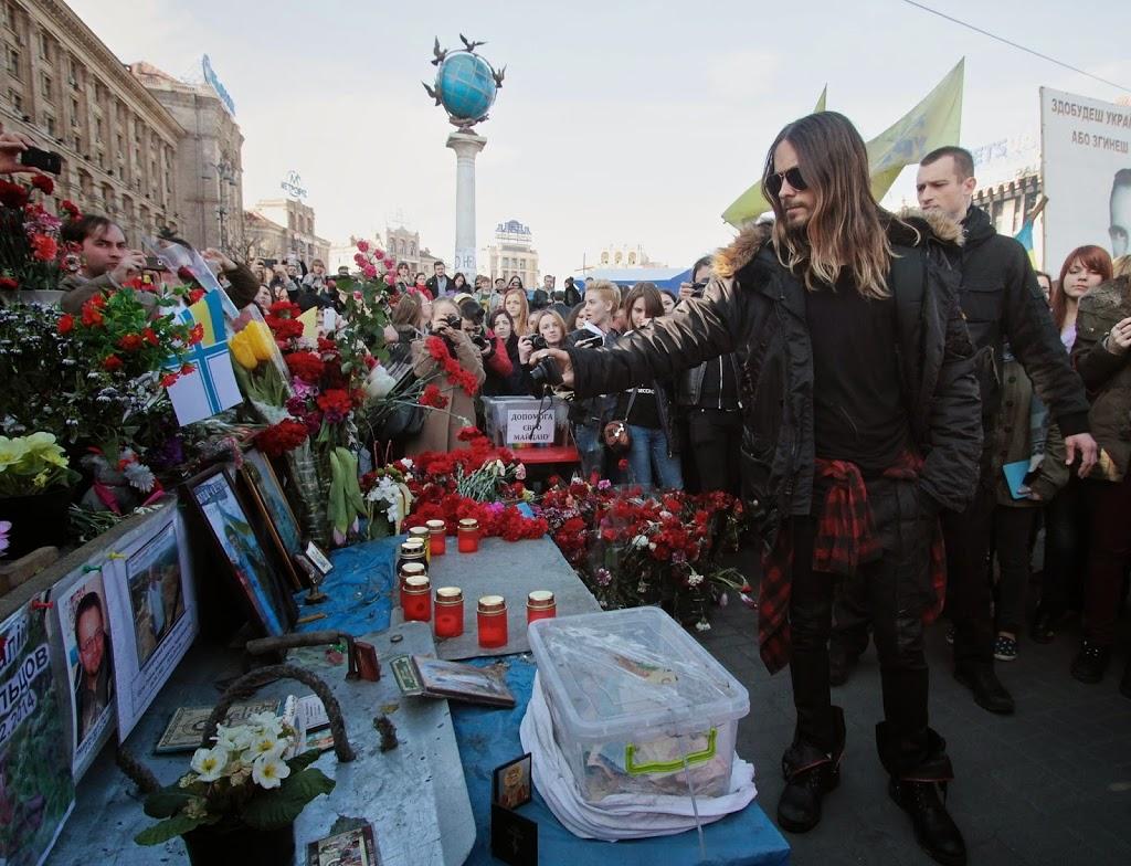 JARED LETO SOLVES UKRAINE CRISIS