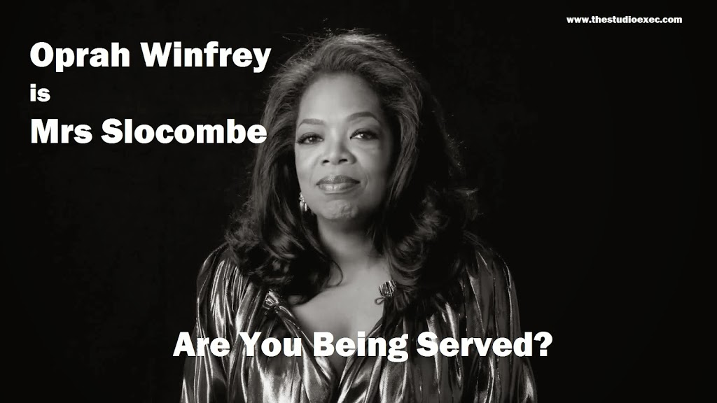 OPRAH WINFREY JOINS ARE YOU BEING SERVED?