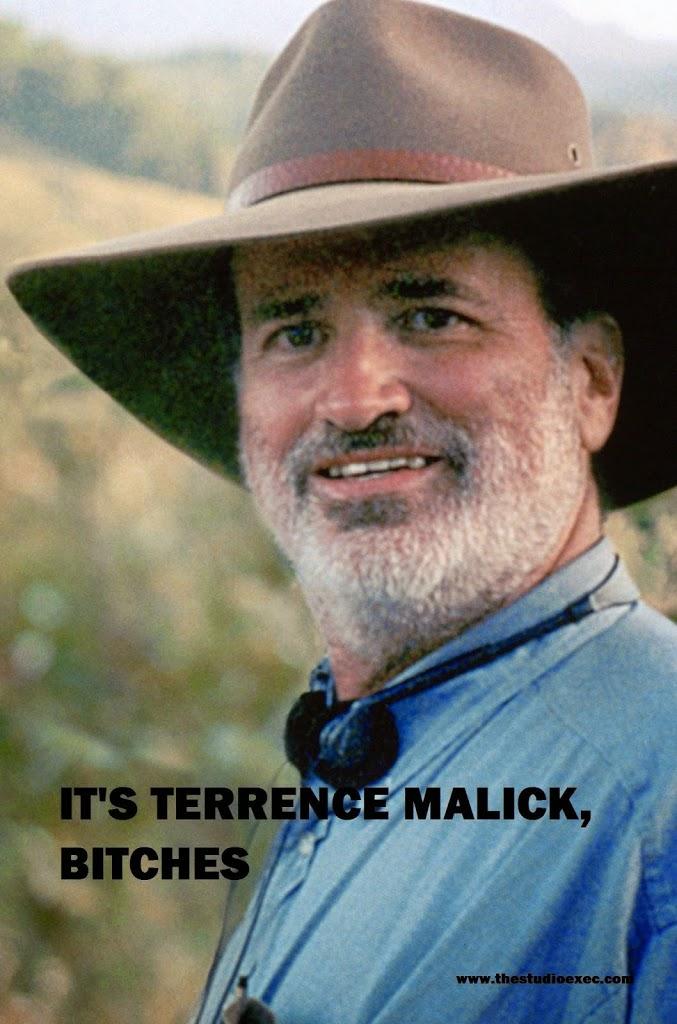 TERRENCE MALICK: KUBRICK? WHO HE?