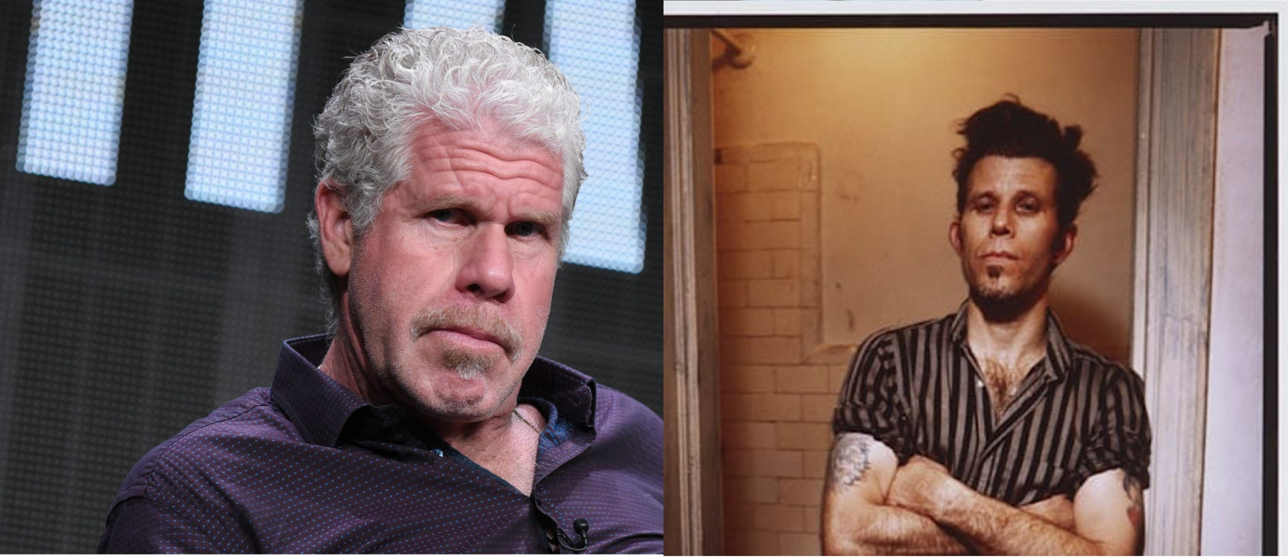 RON PERLMAN GROWLS YES TO TOM WAITS BIOPIC