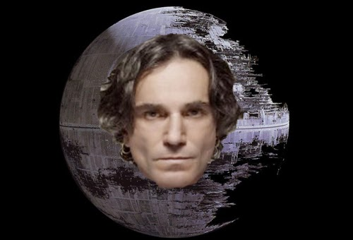 DANIEL DAY-LEWIS WILL NOT PLAY THE DEATH STAR