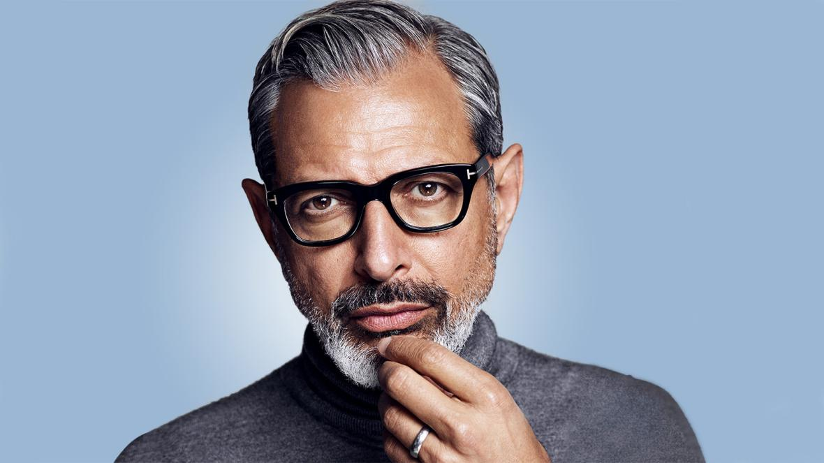 JEFF GOLDBLUM GETS A JEFF GOLDBLUM TATTOO