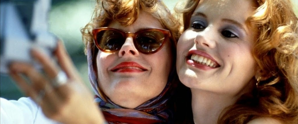 FILM HISTORY: THELMA AND LOUISE INVENTS THE SELFIE