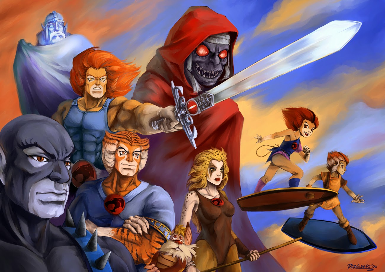 AVENGERS: AGE OF ULTRON  WILL FEATURE THE THUNDERCATS