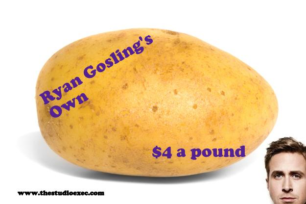 RYAN GOSLING LAUNCHES OWN BRAND VEGETABLES