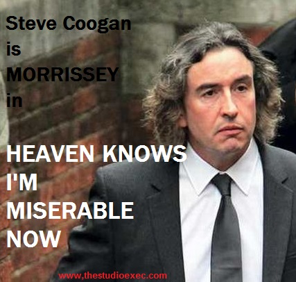 STEVE COOGAN TO PLAY MORRISSEY