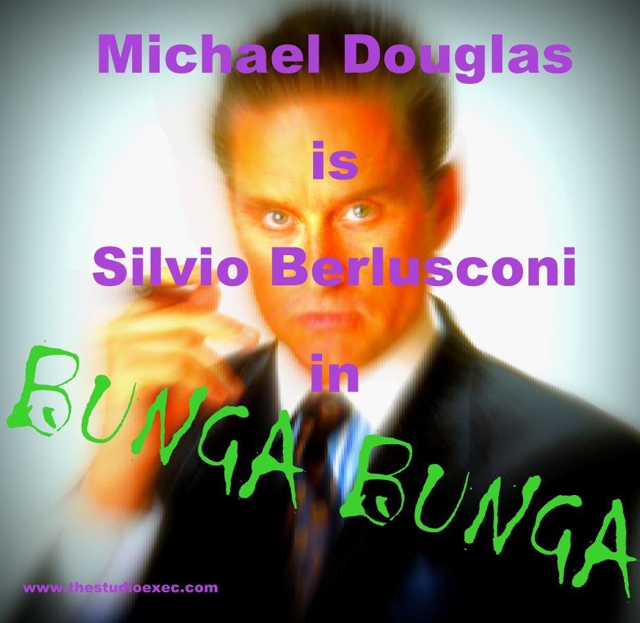 MICHAEL DOUGLAS TO PLAY SILVIO BERLUSCONI