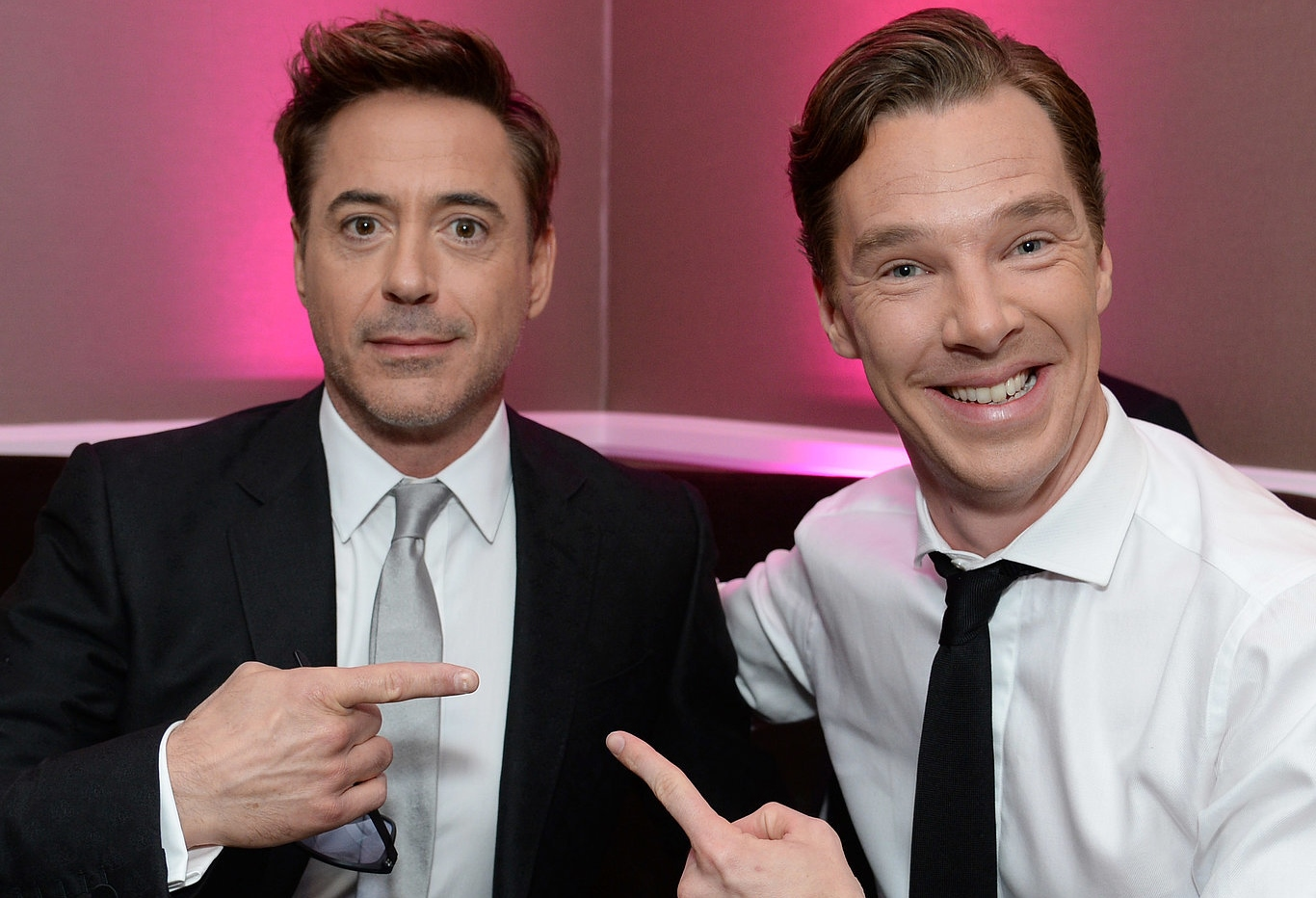 DOWNEY JR. AND CUMBERBATCH IN SHERLOCK XMAS SPECIAL