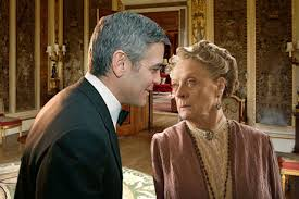 GEORGE CLOONEY AND MAGGIE SMITH AFFAIR ROCKS DOWNTON ABBEY