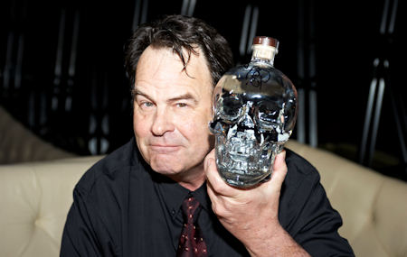 DAN AYKROYD'S VODKA IS 'SALTY WATER'