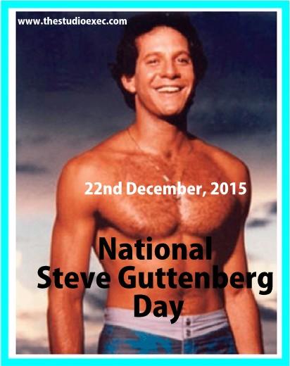 NATIONAL STEVE GUTTENBERG DAY