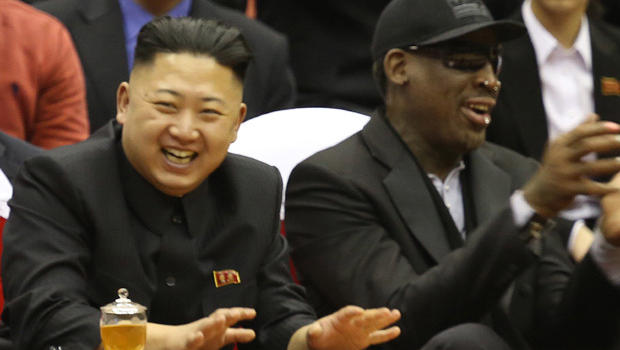 DENNIS RODMAN CALLED IN TO NEGOTIATE WITH NORTH KOREA
