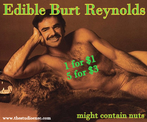 EDIBLE BURT REYNOLDS GO ON SALE