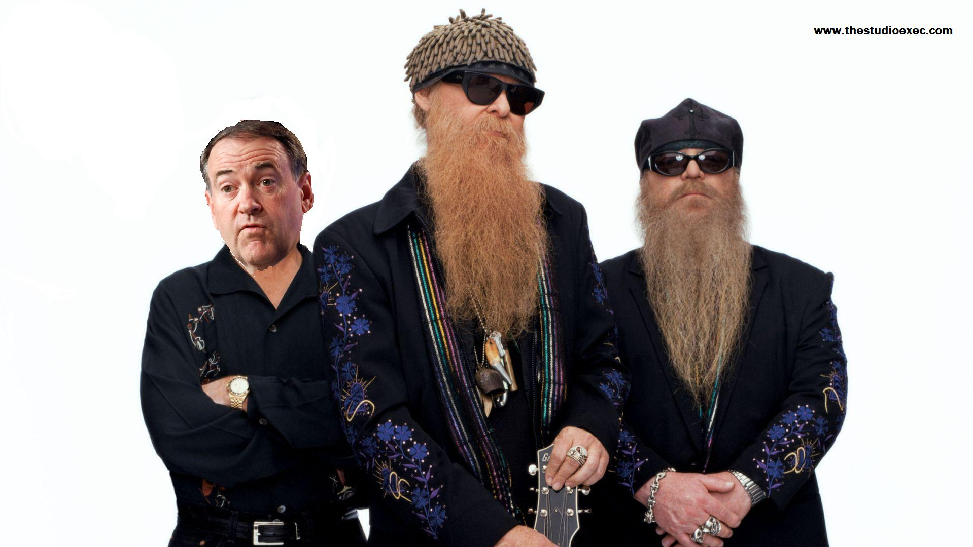 MIKE HUCKABEE LEAVES FOX TO JOIN ZZ TOP