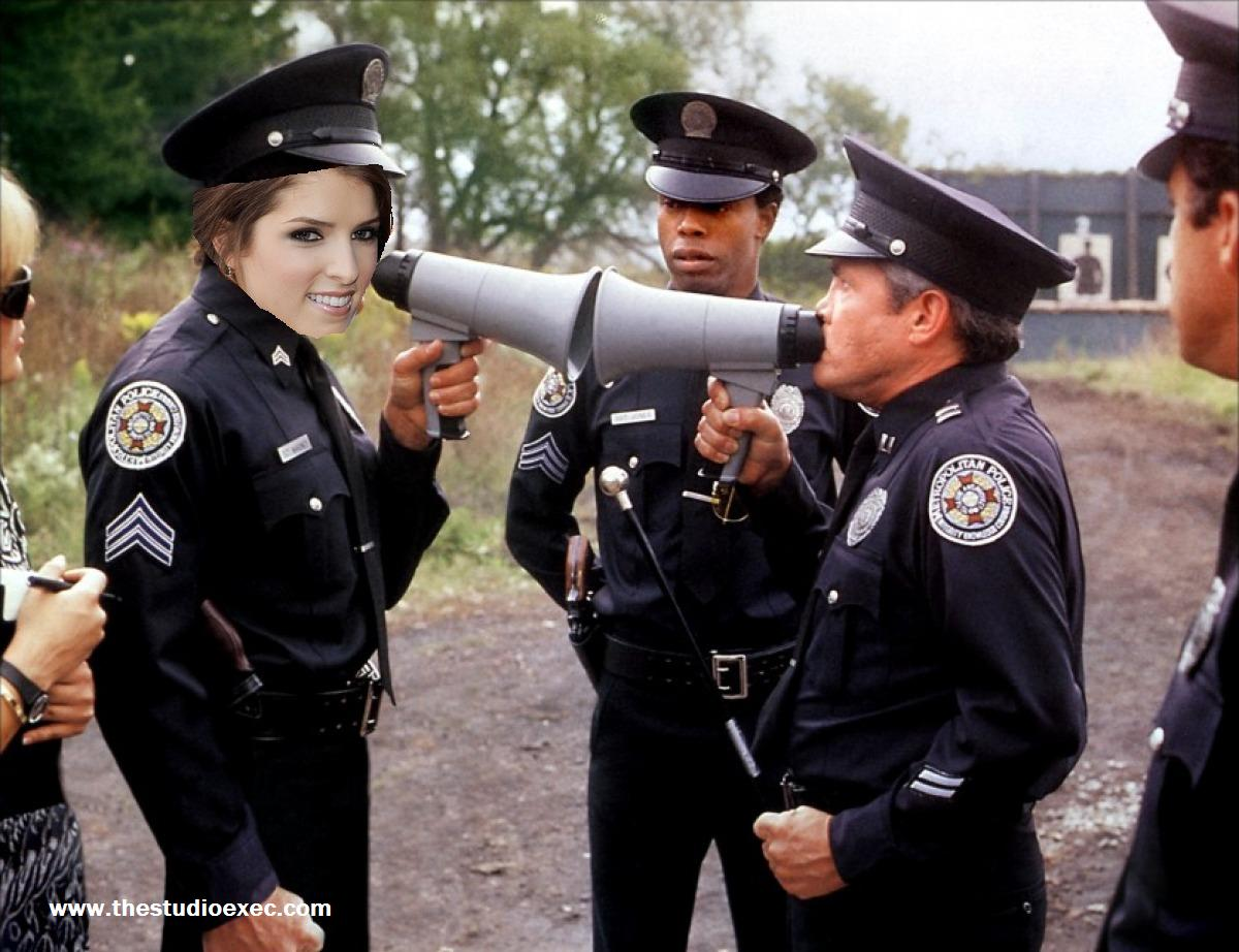 DESERT ISLAND POLICE ACADEMY: ANNA KENDRICK