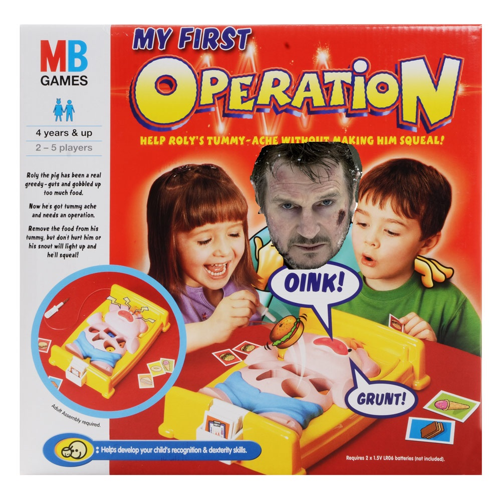 LIAM NEESON SIGNS ON FOR OPERATION