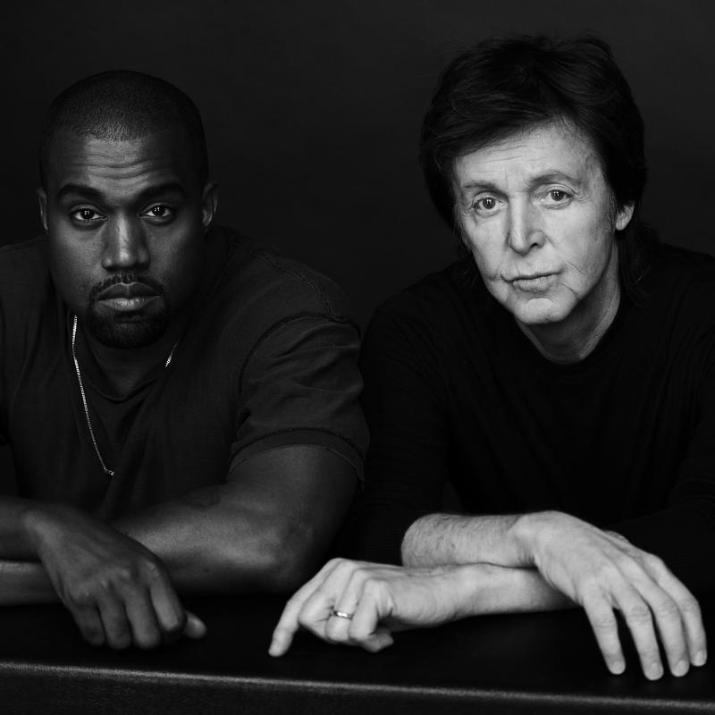 KANYE WEST TELLS PAUL MCCARTNEY 'BEYONCE WAS BEST BEATLE'