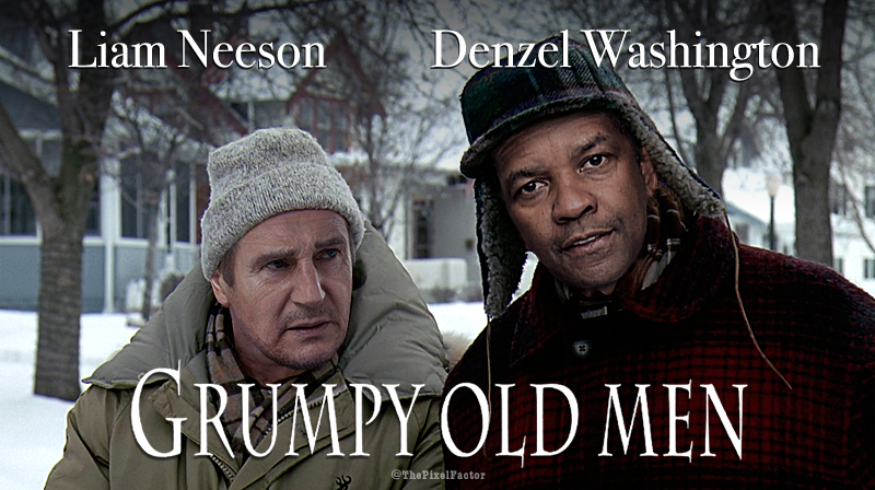 GRUMPY OLD MEN REBOOT: FIRST LOOK