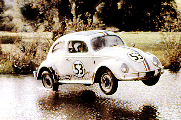 QUENTIN TARANTINO'S TOP FIVE HERBIE MOVIES