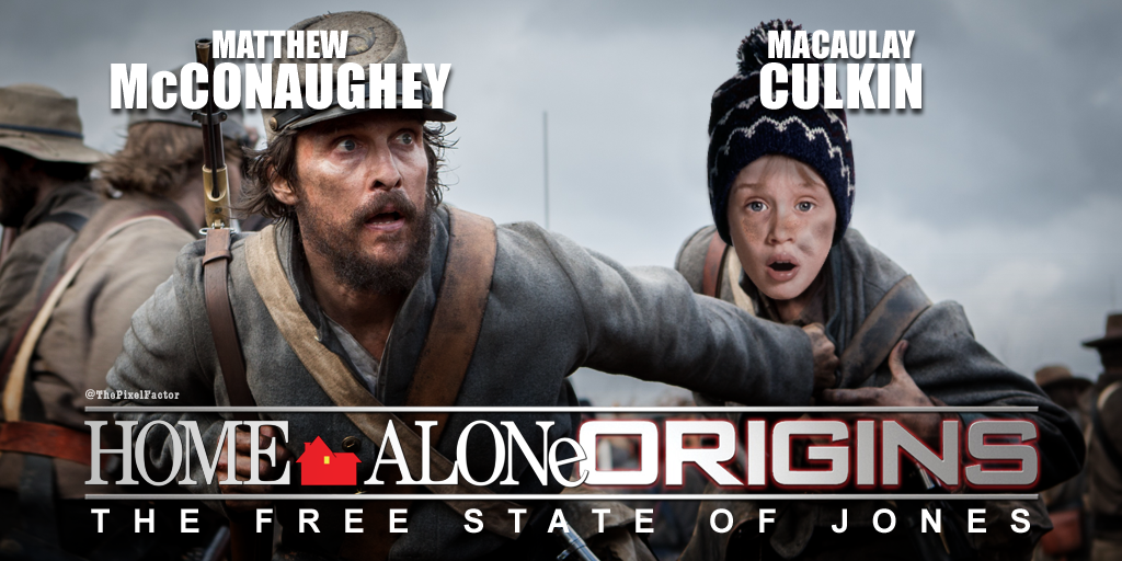 FIRST LOOK: MCCONAUGHEY'S FREE STATE OF JONES GETS TITLE CHANGE