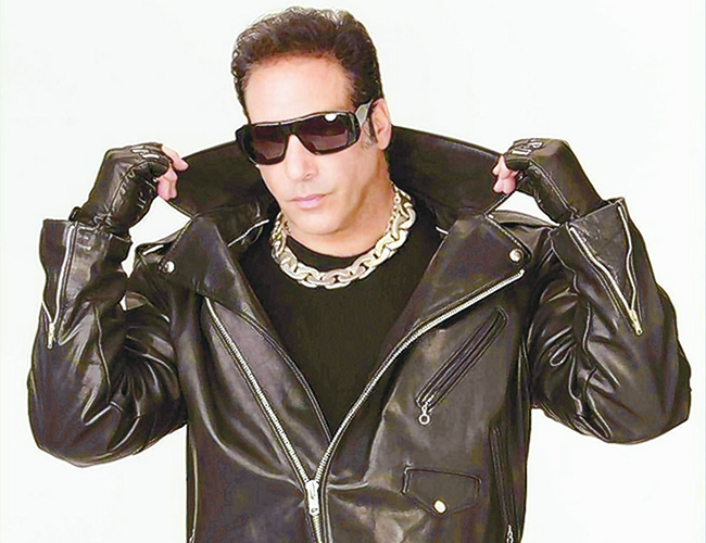 ANDREW DICE CLAY TO TAKE OVER THE DAILY SHOW