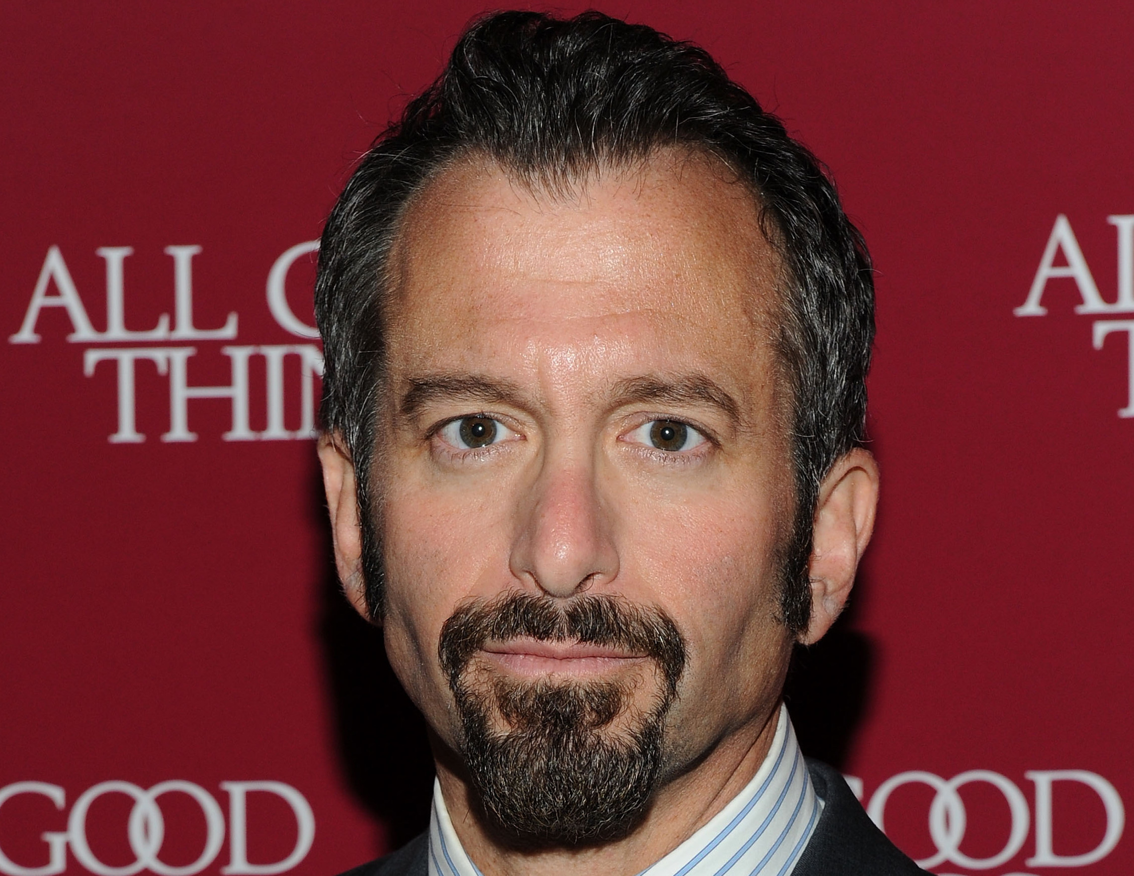 ANDREW JARECKI'S BEARD ATTACKED