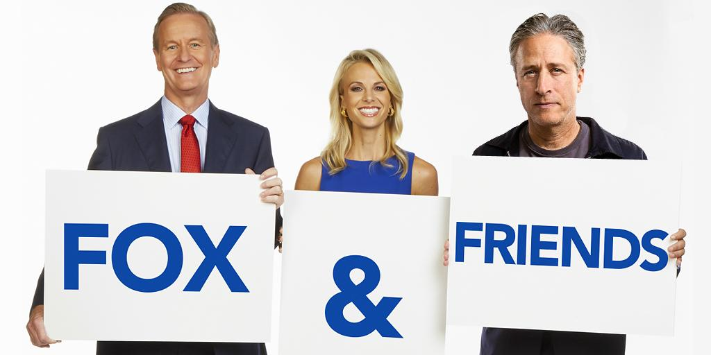 JON STEWART JOINS FOX & FRIENDS