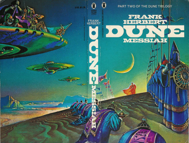 DAVID LYNCH'S NEXT FILM: DUNE MESSIAH