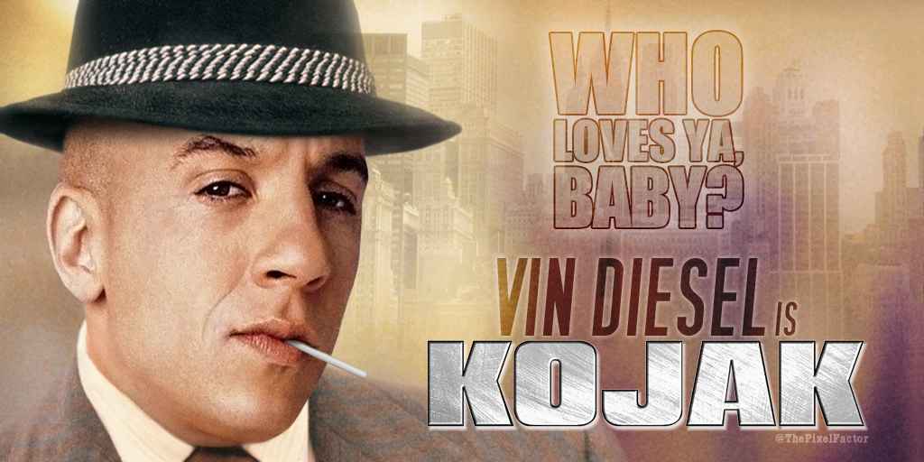 FIRST LOOK AT VIN DIESEL IN KOJAK