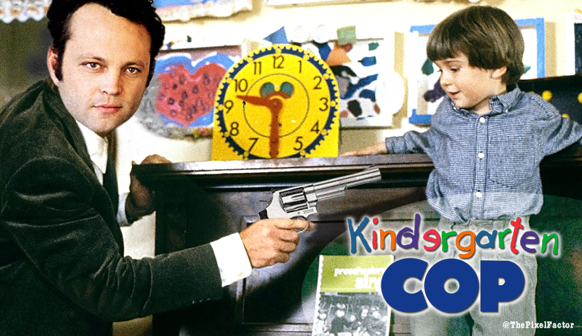 VINCE VAUGHN TO STAR IN REMAKE OF KINDERGARTEN COP