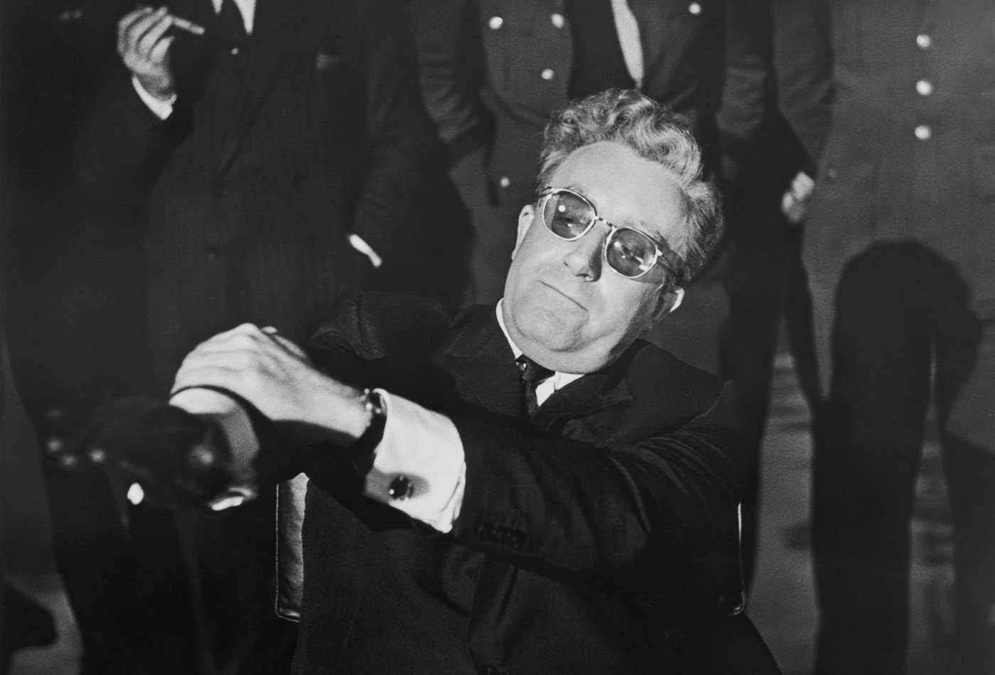 WAS PETER SELLERS ALSO A NAZI?