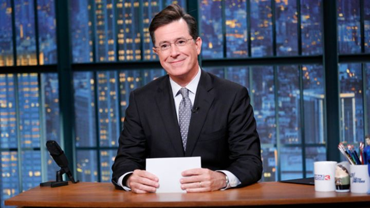 JESUS, MOHAMMAD AND BUDDHA JOIN COLBERT FOR FIRST LATE SHOW