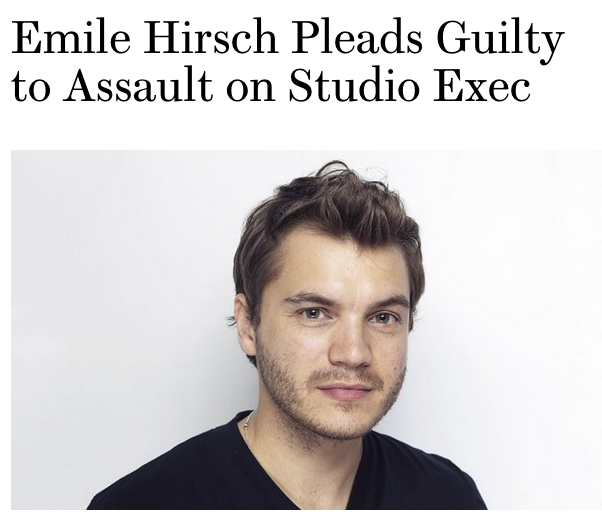 @MYSTERYEXEC GOES MISSING: EMILE HIRSCHE QUESTIONED