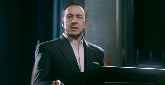 KEVIN SPACEY EXITS HOUSE OF CARDS SEASON FOUR.
