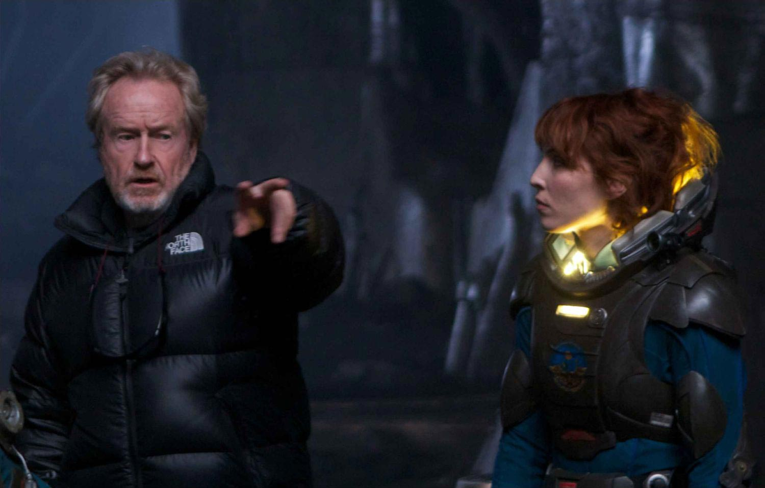 RIDLEY SCOTT PROMISES TO RUIN ALIEN COMPLETELY