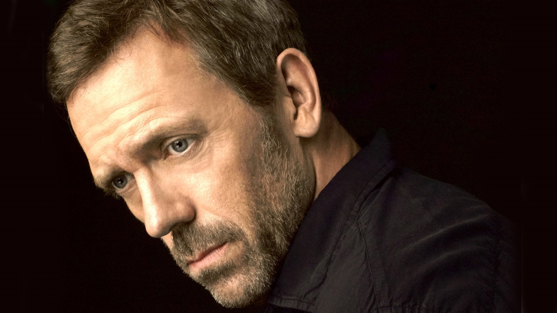 HUGH LAURIE OWNS A HOUSE
